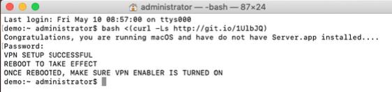 Configuring a VPN Server in macOS Mojave | Mac Mini Vault