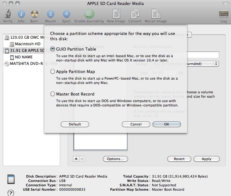 SD Card Cloned Backup  | Mac Mini Vault