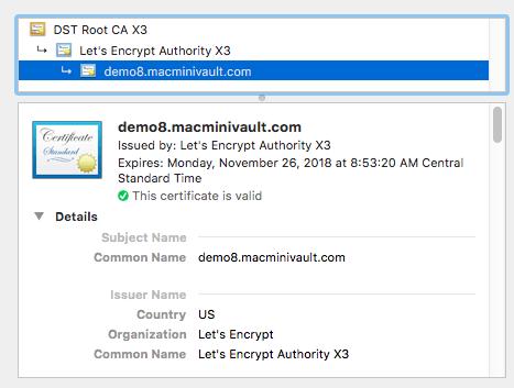 Certbot Certificate Installation