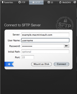 SFTP Upload